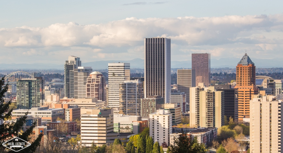 Portland Oregon USA Skyline buildings urban sky clouds Real Estate Photos 4U Calgary HDR Photography yyc top best realtors agents southern Alberta Canada.jpg